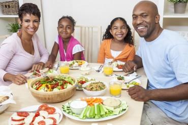 family dinner healthy