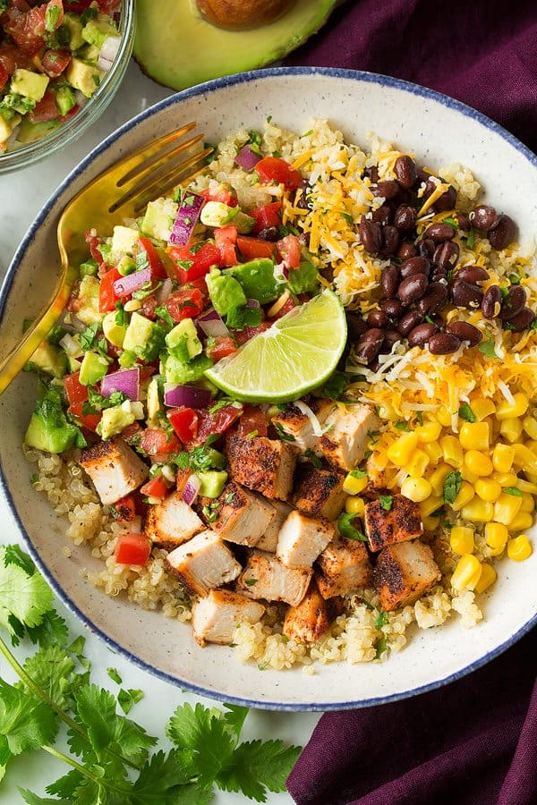 recipe - burrito bowl