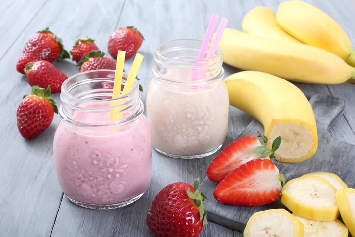 Recipes_StrawberryBananaMilkshake