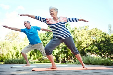 Yoga poses for yogis of all ages