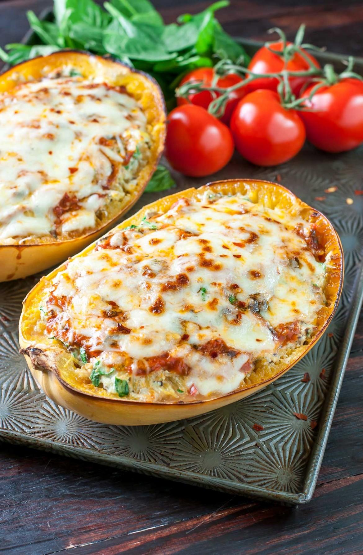 feb - recipe - vegetarian lasagna