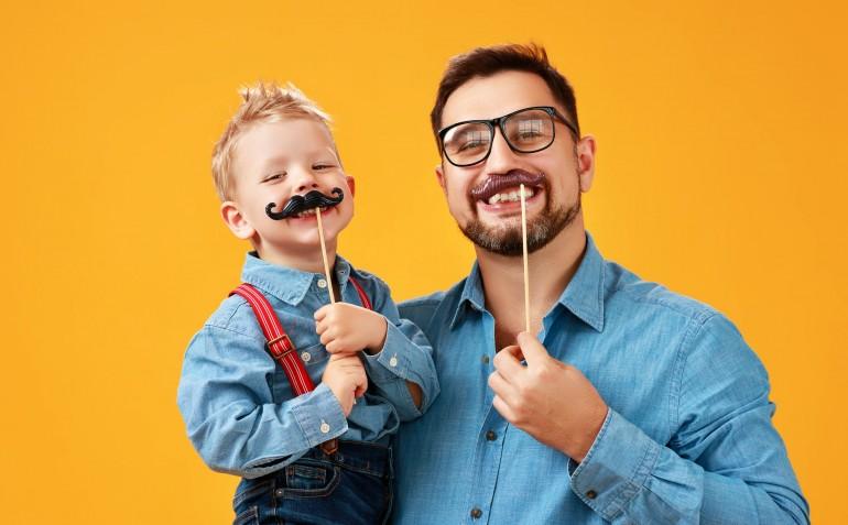 Kids celebrate Movember-min